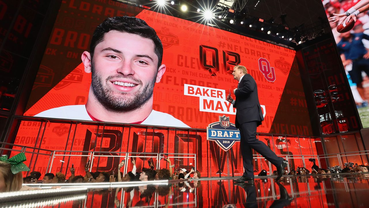 Baker Mayfield (1. Pick im Draft 2018, Cleveland Browns) - Bildquelle: 2018 Getty Images