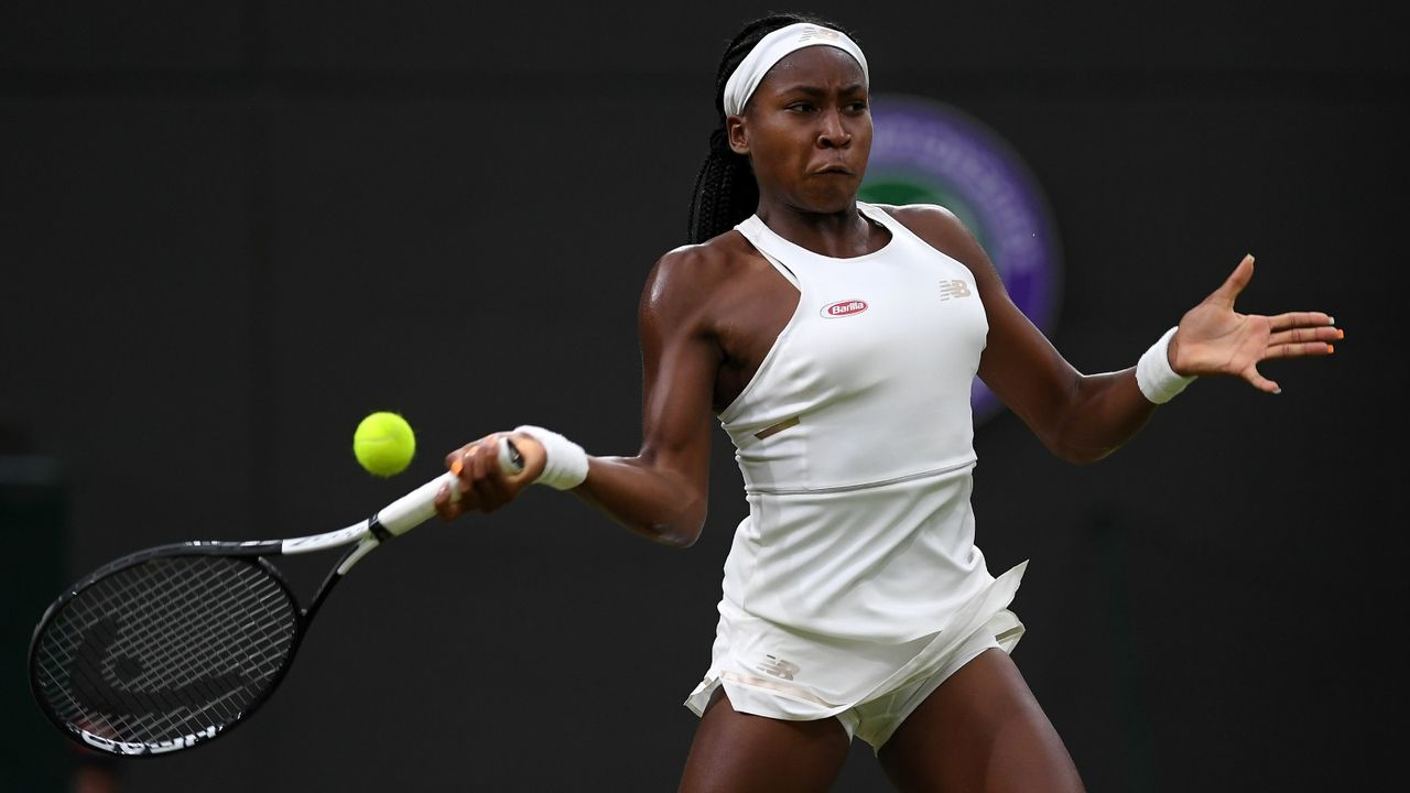Cori Gauff: Wunderkind erobert Wimbledon - Bildquelle: 2019 Getty Images