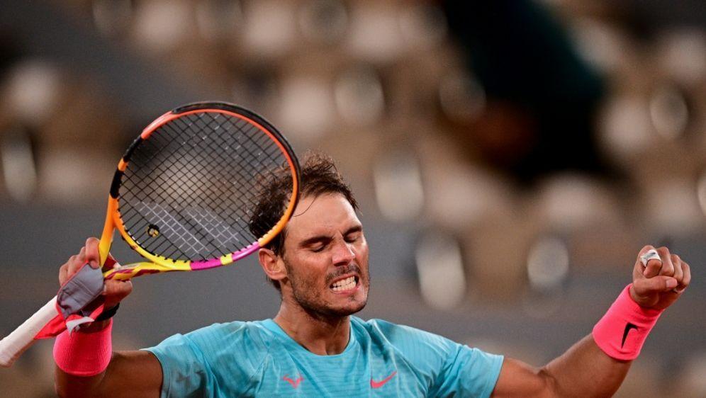 Rafael Nadal steht zum 13. Mal im Viertelfinale der French Open - Bildquelle: AFPSIDMARTIN BUREAU