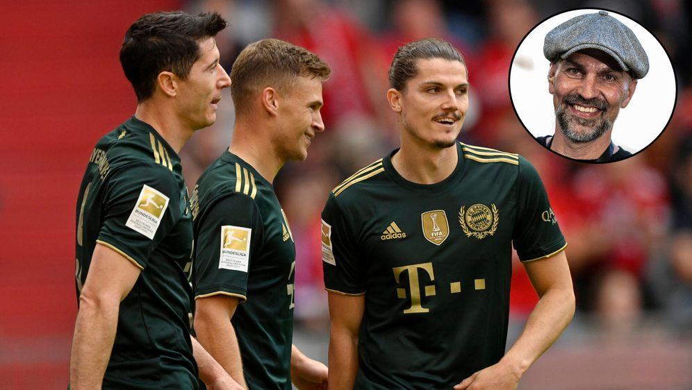 Markus Babbel sieht die Bayern klar als Favorit an. - Bildquelle: Imago Images
