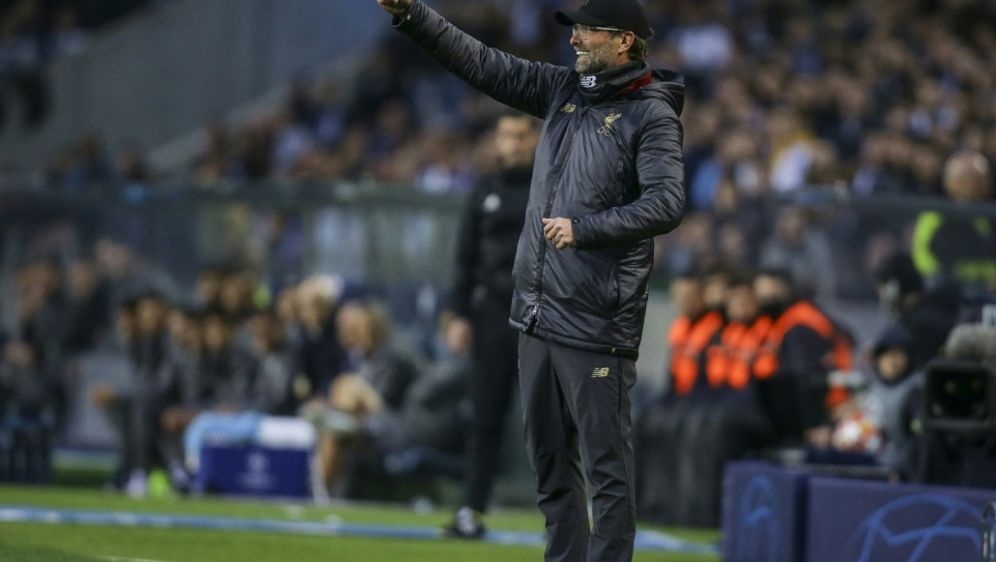 Jürgen Klopp spielt mit Liverpool am 1. Mai in Barcelona - Bildquelle: PIXATHLONPIXATHLONSID