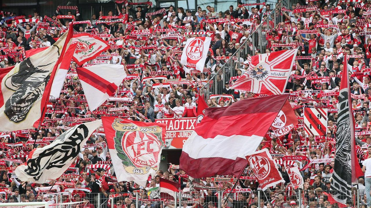 Platz 4: 1. FC Köln  - Bildquelle: imago