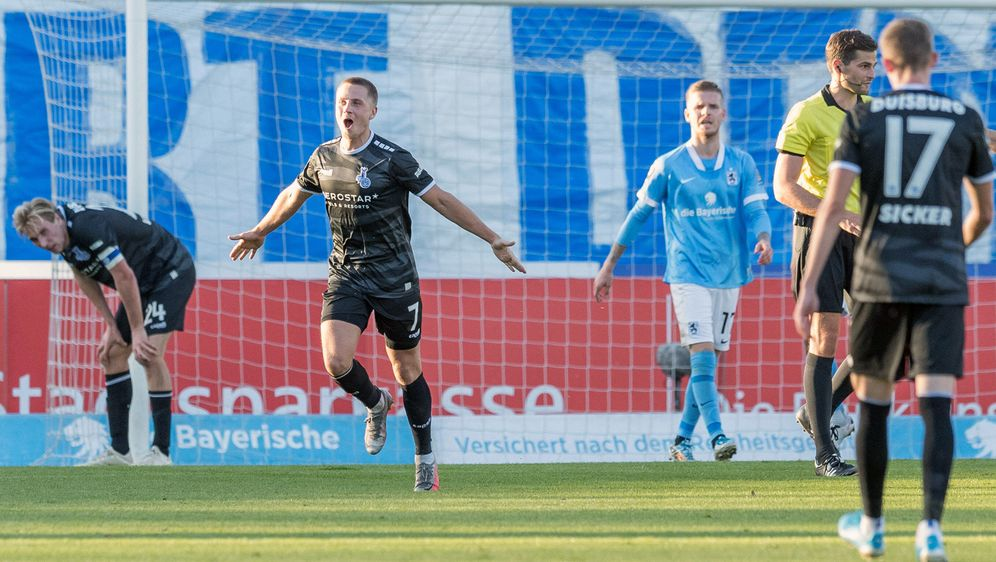 Duisburg sichert sich gegen 1860 München drei Punkte - Bildquelle: Imago