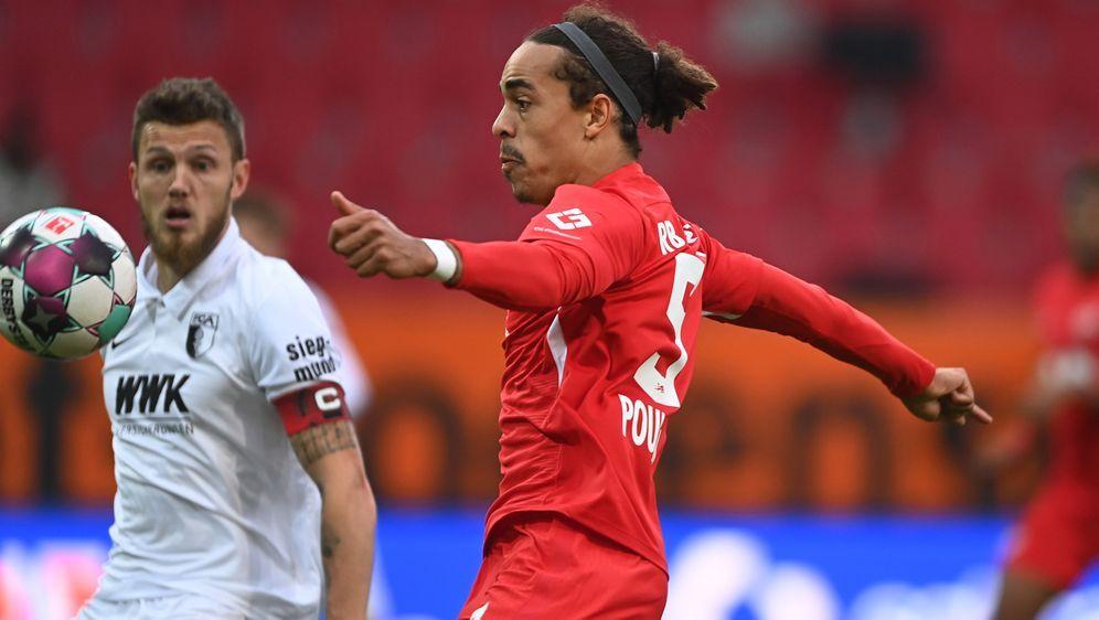 Yussuf Poulsen erzielt das 2:0 für Leipzig - Bildquelle: Getty Images