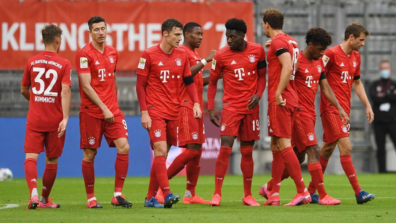 Einzelkritik FC Bayern München gegen Eintracht Frankfurt - Bildquelle: Getty Images