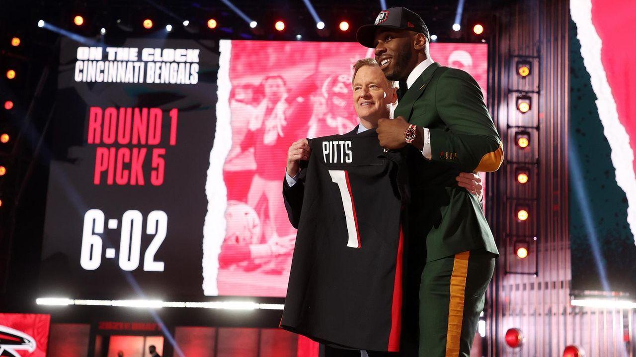 Platz 24 - Atlanta Falcons - Bildquelle: 2021 Getty Images