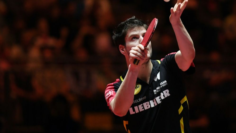 Tischtennis-Herren im EM-Halbfinale: Dimitrij Ovtcharov - Bildquelle: AFPSIDPATRIK STOLLARZ