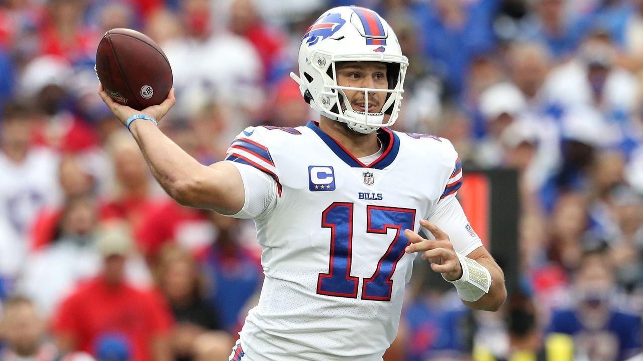 Quarterback: Josh Allen (Buffalo Bills) - Bildquelle: 2021 Getty Images
