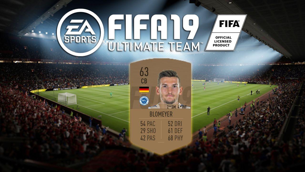 Platz 10: Thomas Blomeyer (Sportfreunde Lotte) - Bildquelle: EA Sports