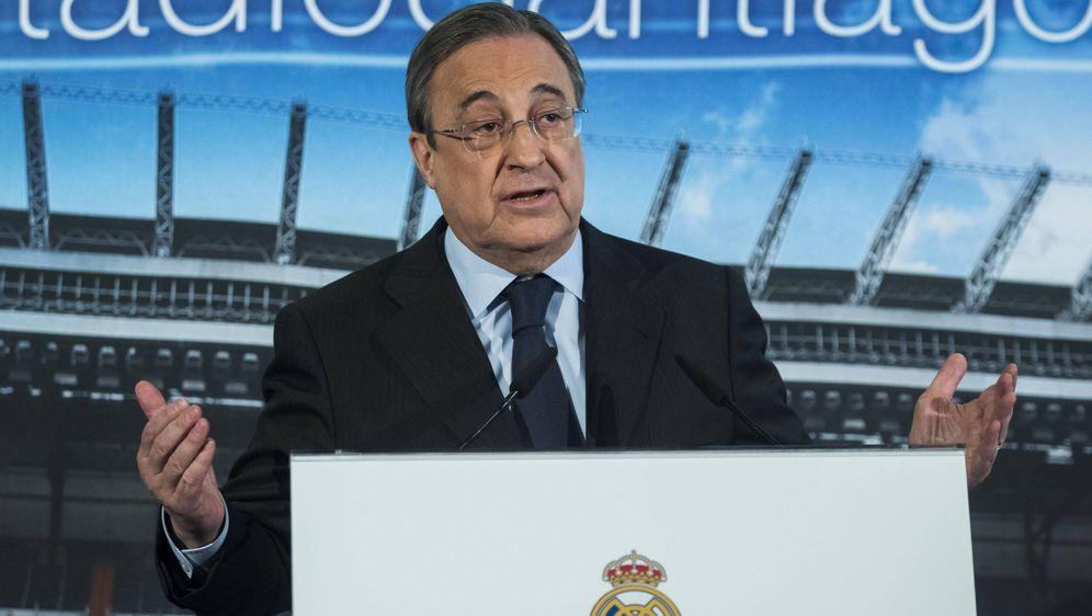 Will den Fußball retten: Florentino Perez - Bildquelle: Imago