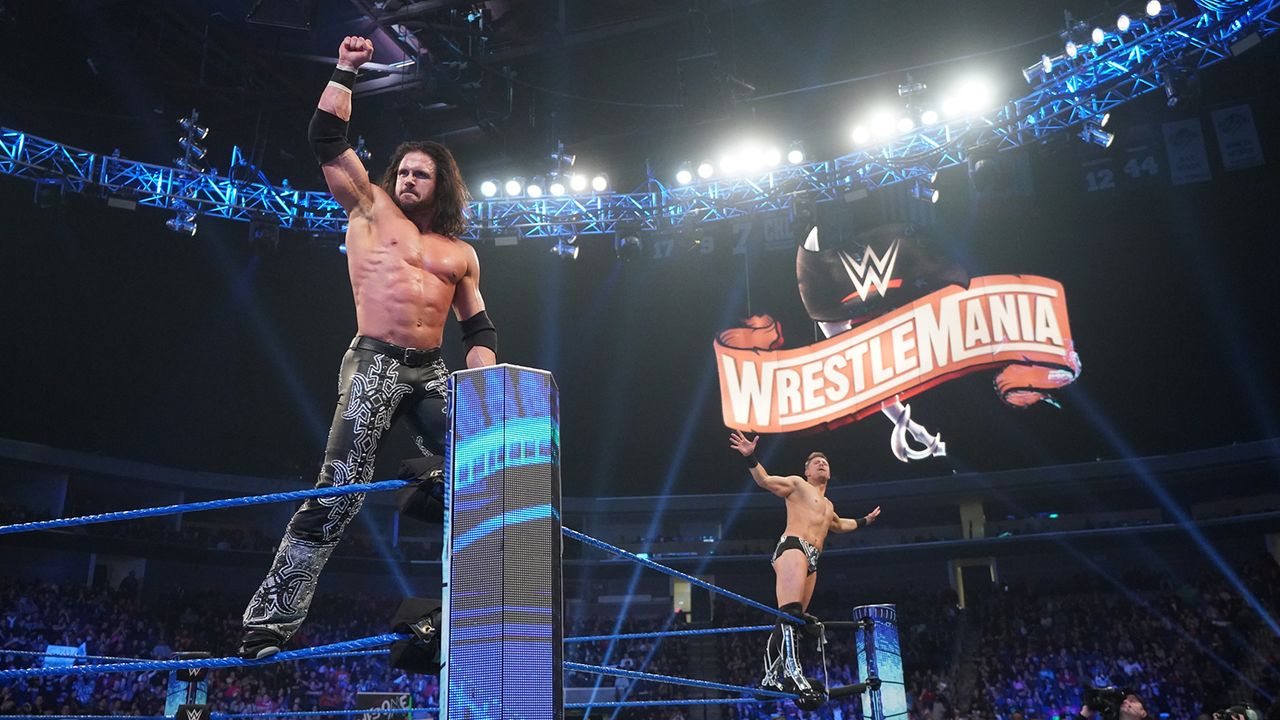WWE SmackDown Tag Team Championship: The Miz und John Morrison (c) vs. The New Day vs. The Usos