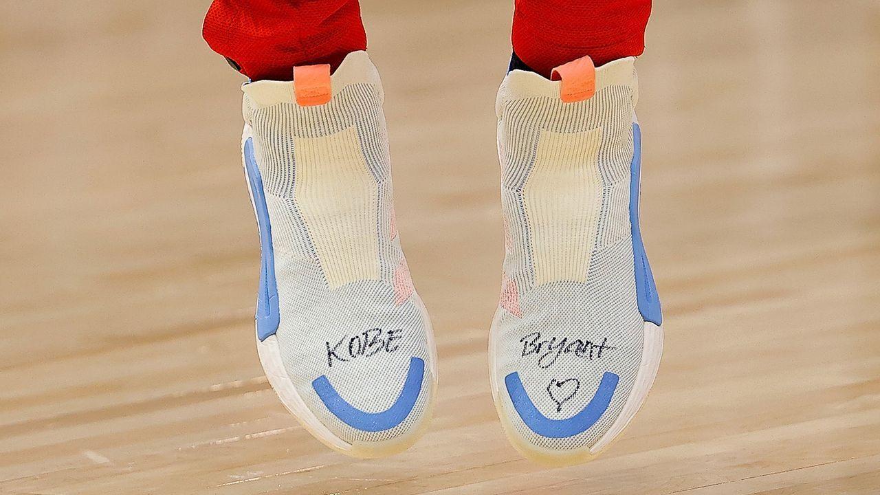 Trae Young mit besonderem Schuhwerk - Bildquelle: 2020 Getty Images