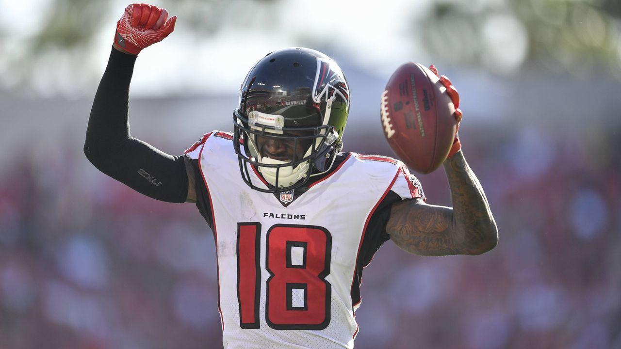 Pick 26: Calvin Ridley (Wide Receiver, Atlanta Falcons) - Bildquelle: imago/Icon SMI