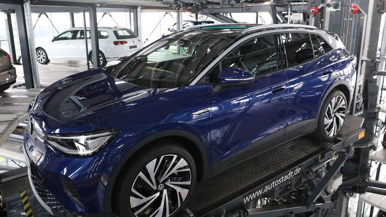 VW ID.4 Pro - Bildquelle: imago images/regios24