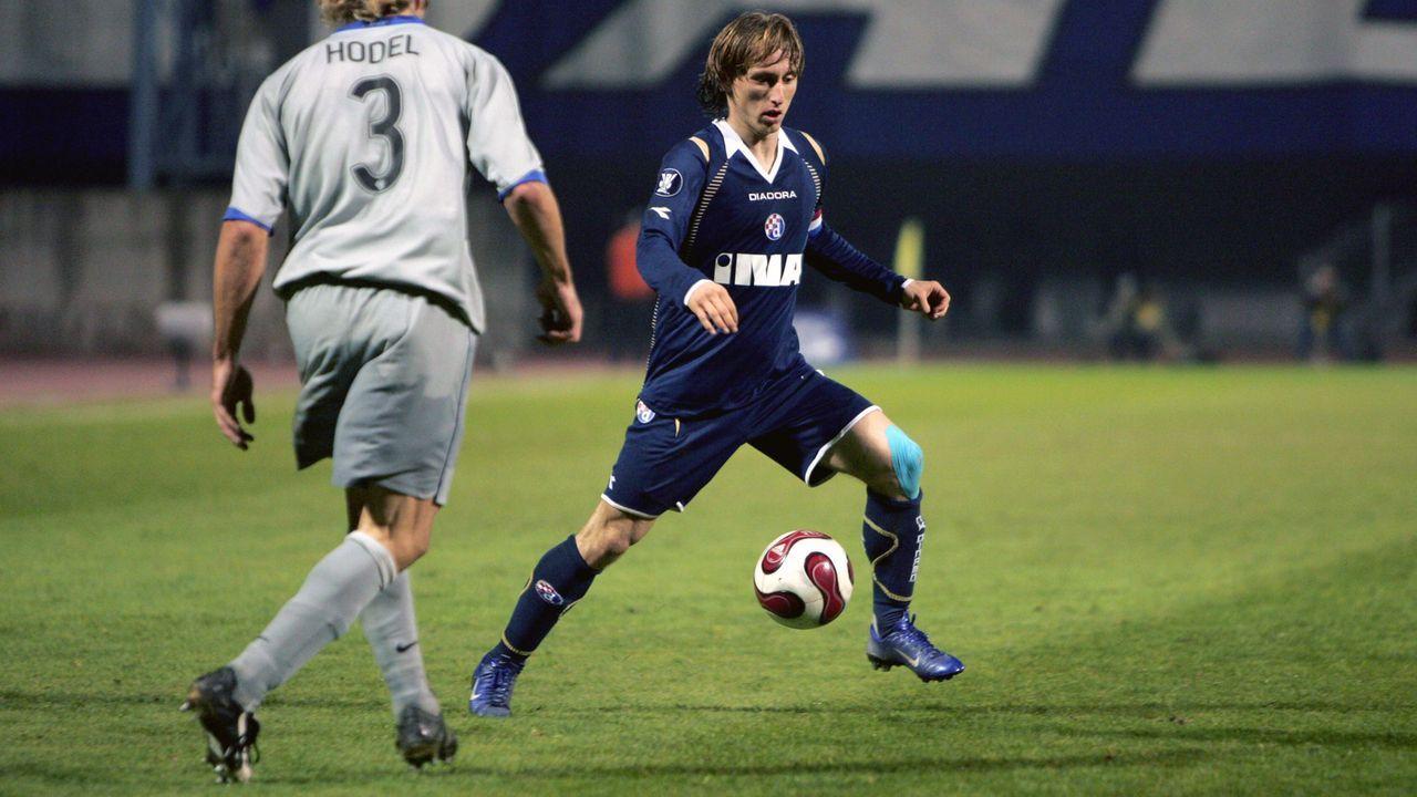 Platz 2 - Luka Modric - Bildquelle: Imago