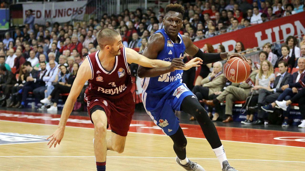 Platz 10: Isaac Bonga (Washington Wizards/Basketball) - Bildquelle: imago/Eibner