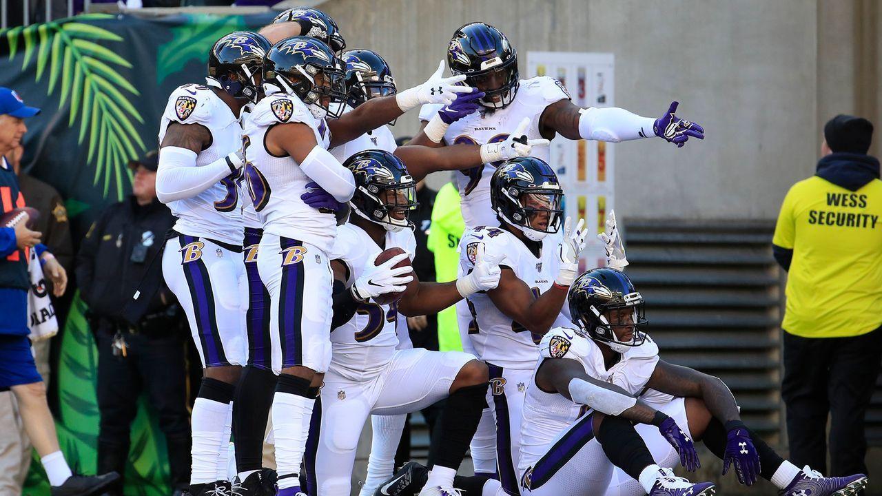 Defense: Baltimore Ravens - Bildquelle: 2019 Getty Images