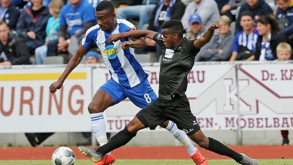 Hertha BSC ging bei Erzgebirge Aue unter. - Bildquelle: Getty Images
