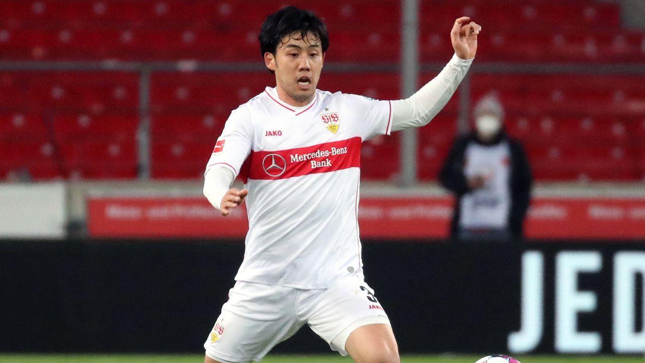 VfB Stuttgart: Wataru Endo - Bildquelle: imago images/Sportfoto Rudel