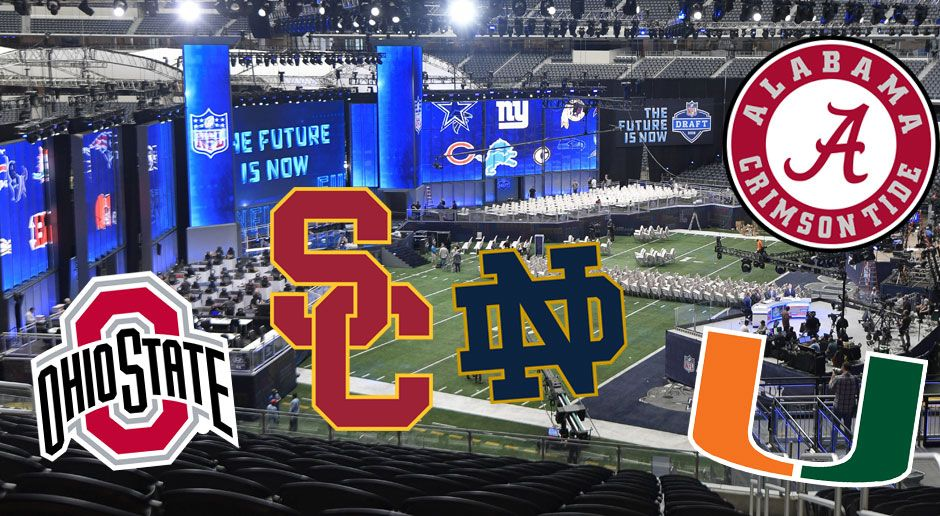 NFL Draft: Die US-Colleges mit den meisten Erstrundenpicks - Bildquelle: imago/ZUMA Press
