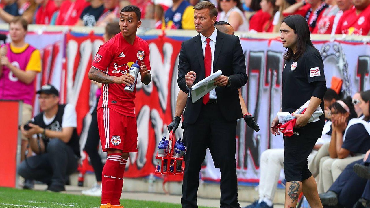 Wie Jesse Marsch vom Beckham-Rivalen zur heißen Trainer-Aktie wurde - Bildquelle: imago/Icon SMI