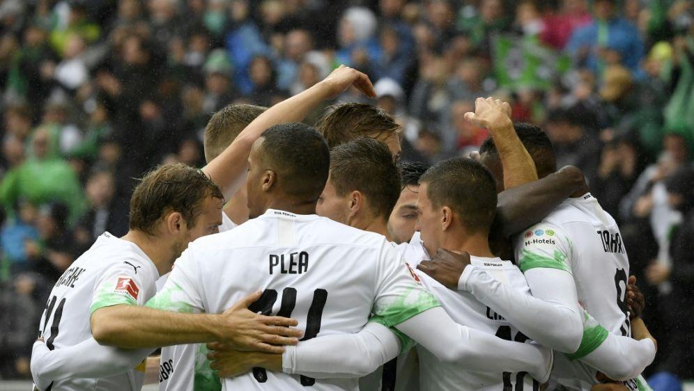 Borussia Mönchengladbach führt derzeit die Tabelle an - Bildquelle: AFPSIDINA FASSBENDER