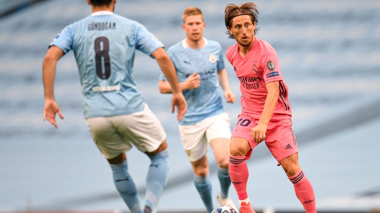 Luka Modric (Real Madrid) - Bildquelle: Getty Images