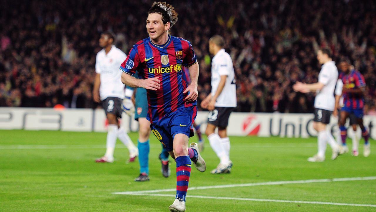 Lionel Messi (FC Barcelona) - Bildquelle: 2010 Getty Images