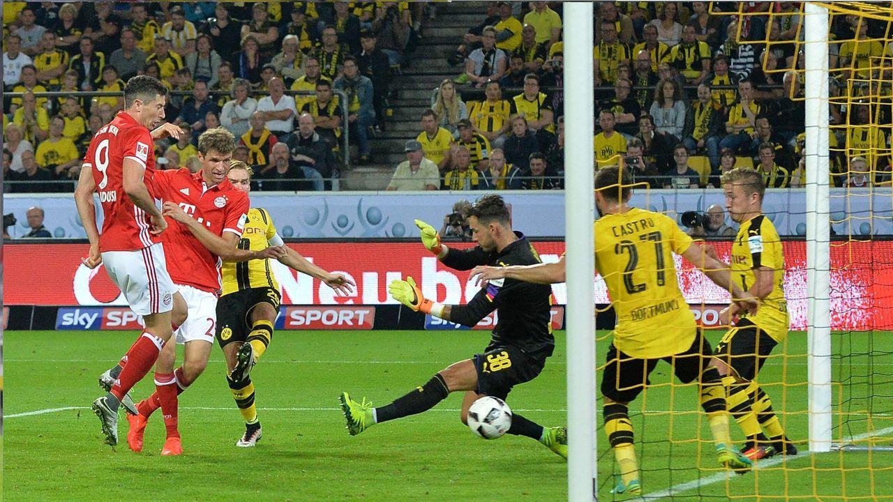 2016: Borussia Dortmund - FC Bayern München 0:2 - Bildquelle: Imago Images