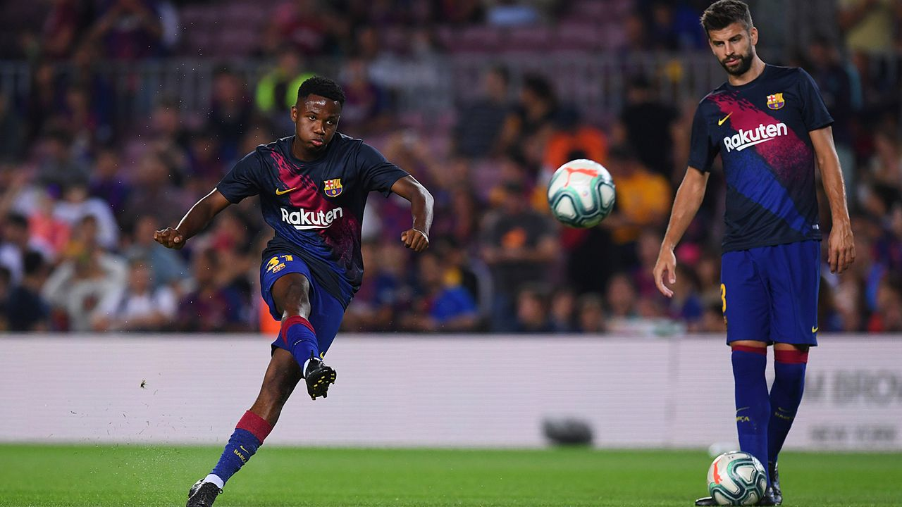 Ansu Fati (FC Barcelona) - Bildquelle: 2019 Getty Images