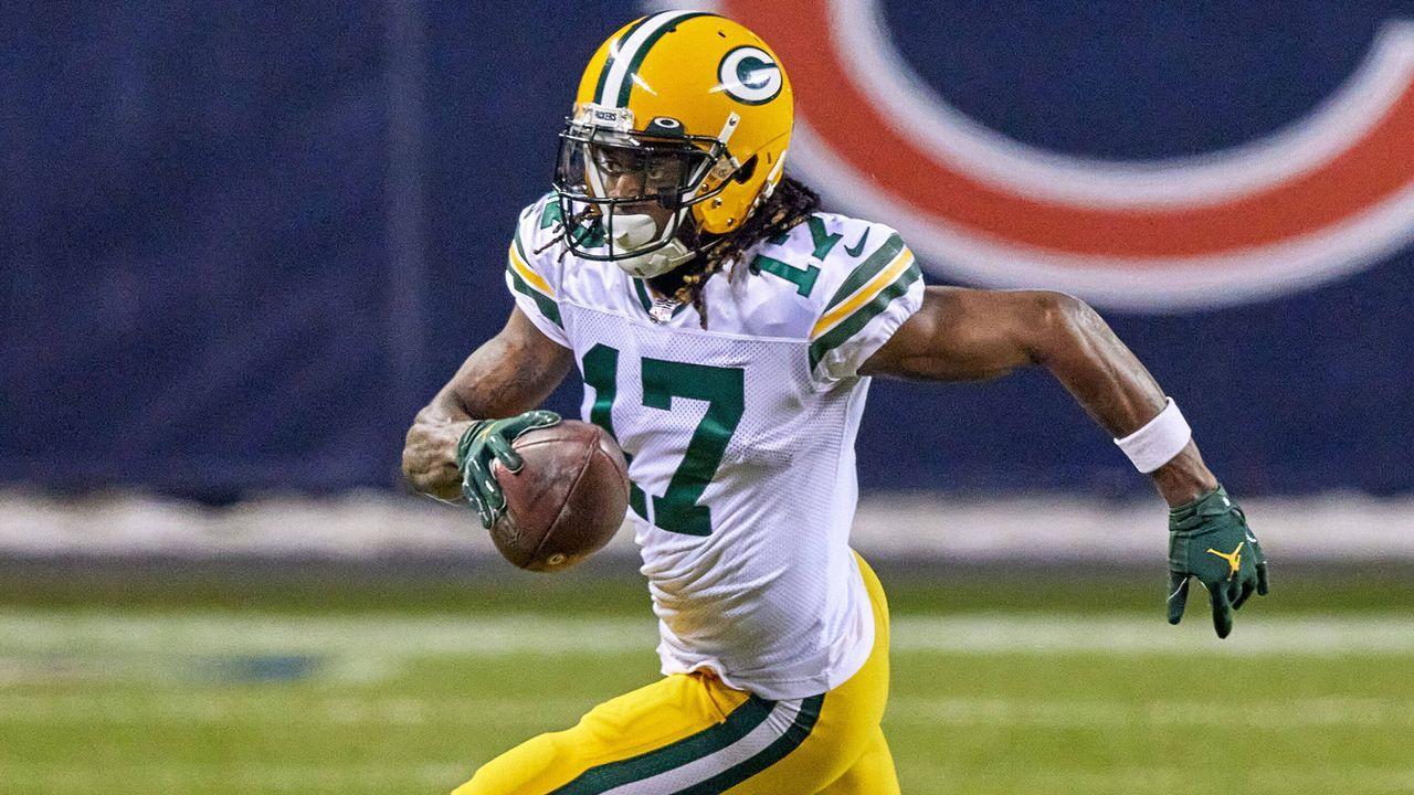 Platz 1: Davante Adams (Green Bay Packers) - Bildquelle: imago images/Icon SMI