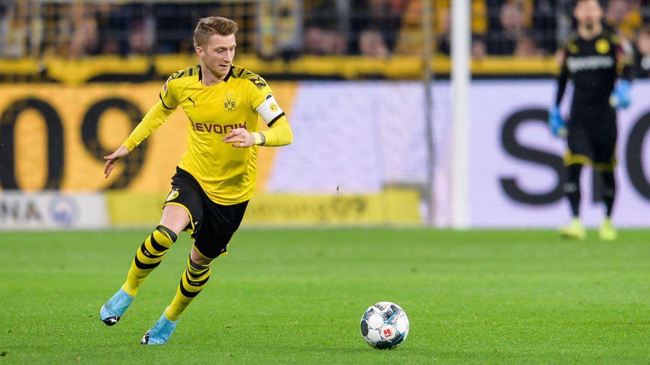 Platz 5: Marco Reus (Borussia Dortmund) - Bildquelle: 2019 Getty Images