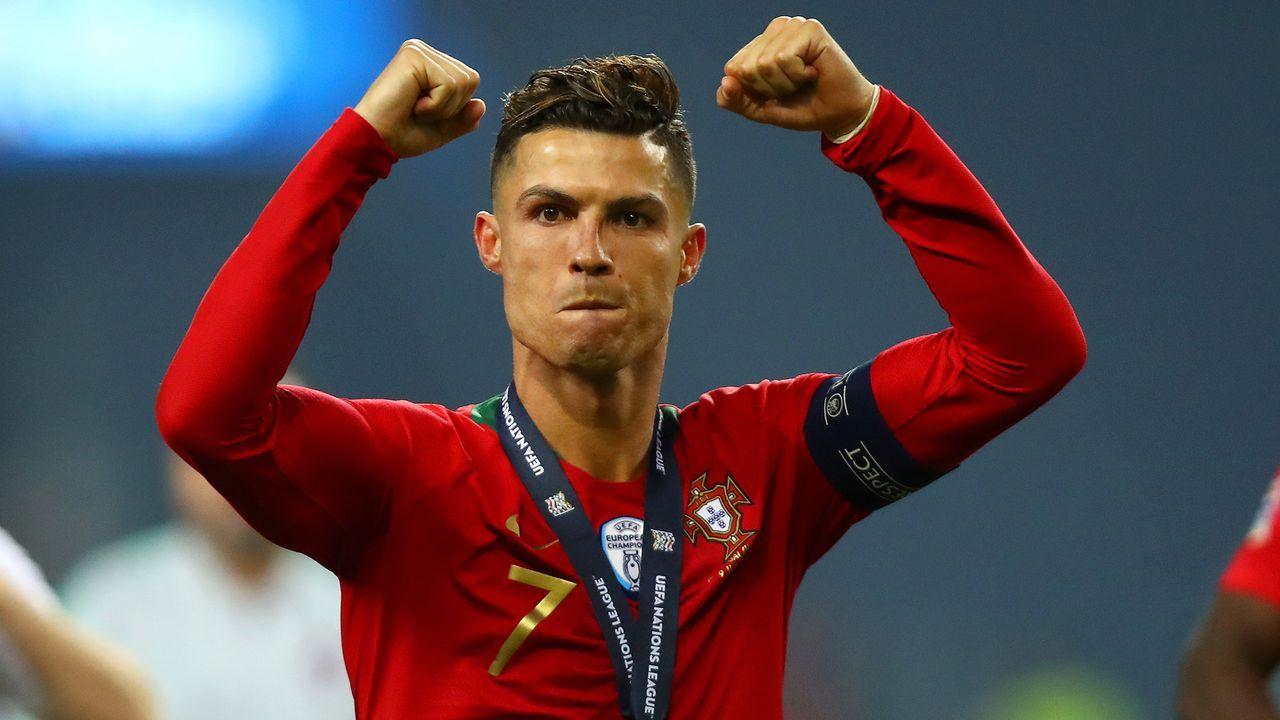 Angriff - Cristiano Ronaldo (Portugal) - Bildquelle: 2019 Getty Images