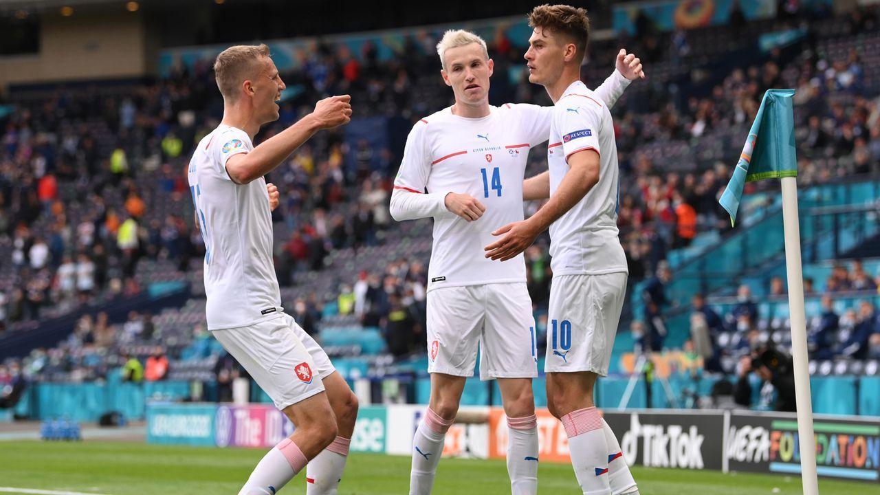 Gruppe D: Tschechien (Gruppendritter, 4 Punkte/3:2 Tore) - Bildquelle: 2021 Getty Images