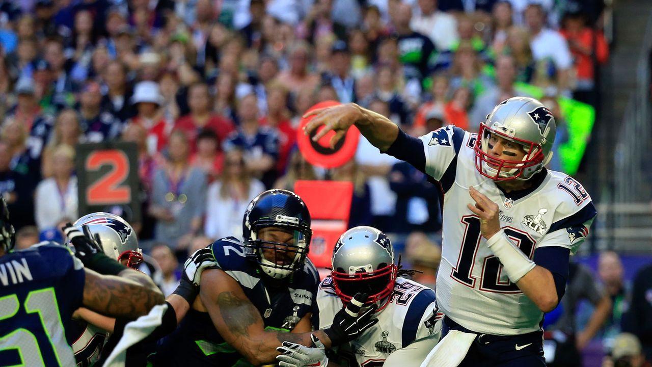 10. Rekord: Meiste angekommene Pässe am Stück in einem Super Bowl - Bildquelle: 2012 Getty Images