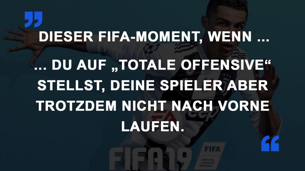 FIFA Momente totale Offensive