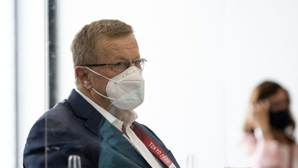 IOC sollte laut Coates keinen Druck auf China ausüben - Bildquelle: AFP/POOL/SID/TAKASHI AOYAMA