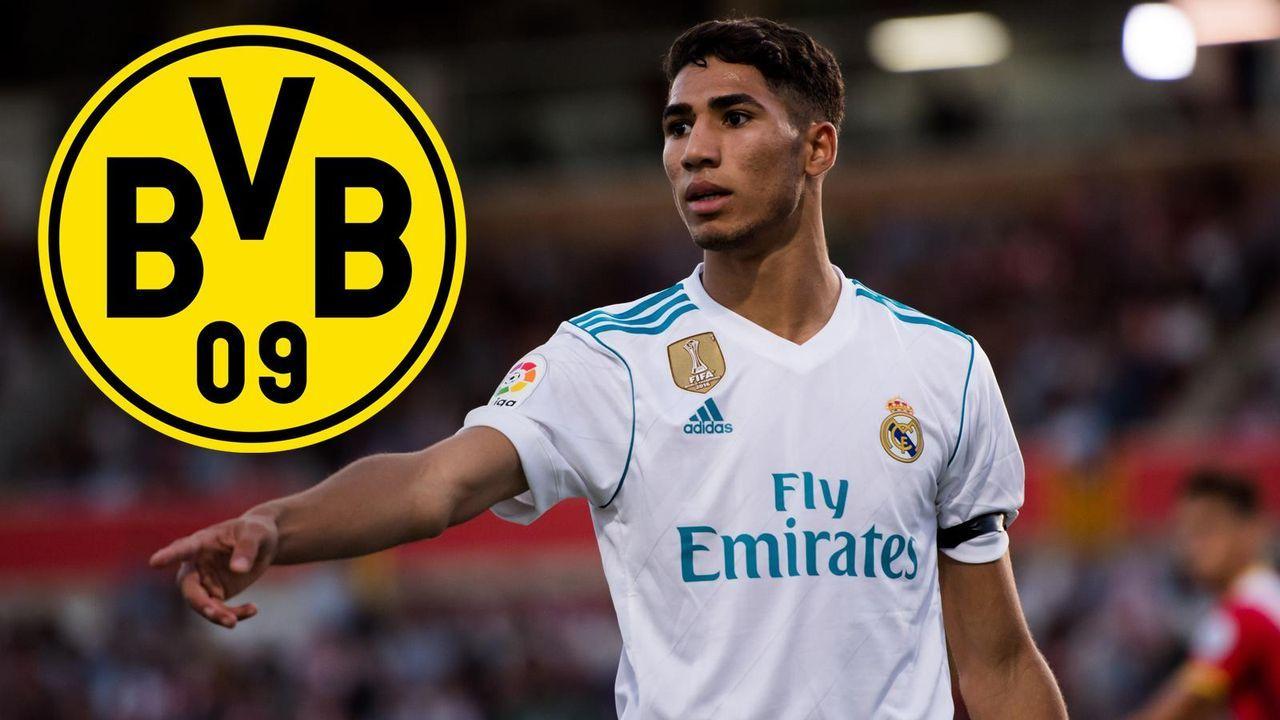 Achraf Hakimi (Zugang Borussia Dortmund) - Bildquelle: getty