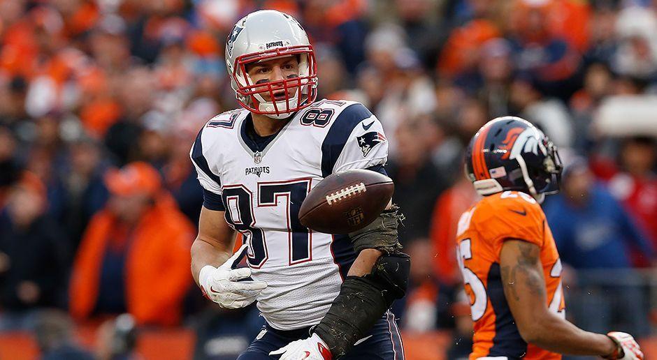 Platz 5: Rob Gronkowski - Tight End (New England Patriots) - Bildquelle: 2016 Getty Images