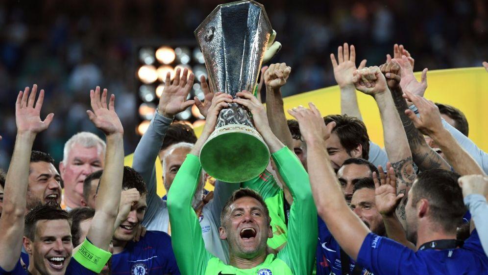 Green (M.) jubelt nach dem Europa-League-Sieg - Bildquelle: AFPSIDKIRILL KUDRYAVTSEV