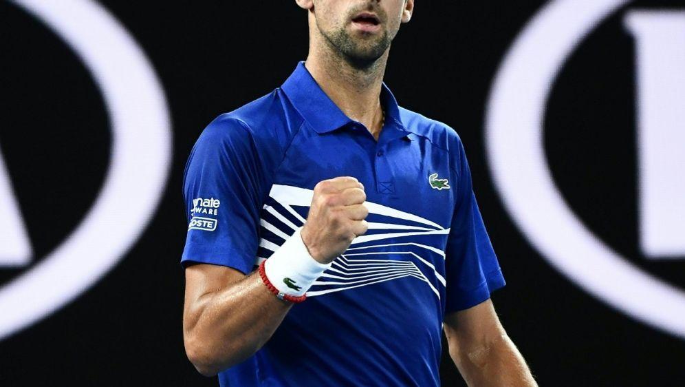 Gewann gegen Tsonga souverän: Novak Djokovic - Bildquelle: AFPSID