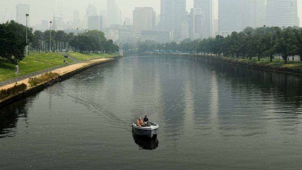 Extrem hohe Feinstaubbelastung in Melbourne - Bildquelle: AFPSIDWilliam WEST