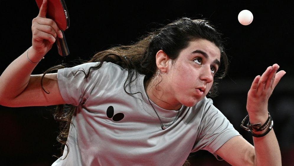 Zwölfjährige Hend Zaza schreibt Geschichte bei Olympia - Bildquelle: AFPSIDANNE-CHRISTINE POUJOULAT
