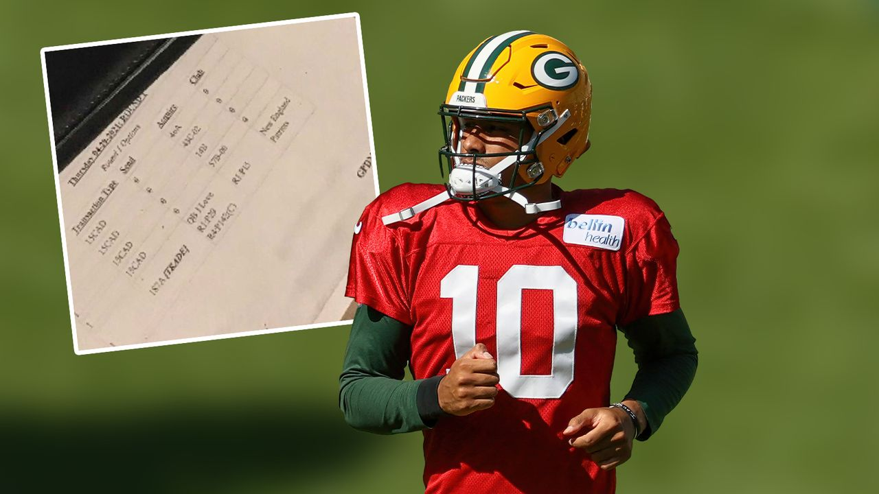Jordan Love (Green Bay Packers) - Bildquelle: Getty Images / Twitter GilletteNation