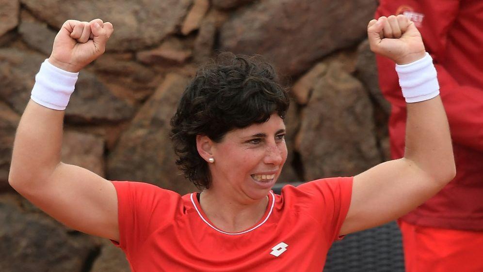 Nach acht Monaten Krebs geheilt: Carla Suarez Navarro - Bildquelle: AFPSIDJOSE JORDAN