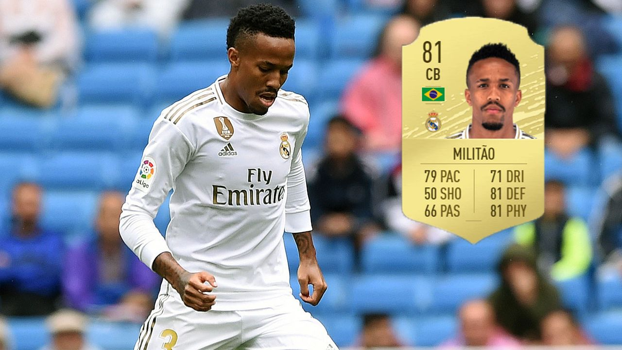 Abwehr: Eder Militao (+7/Real Madrid) - Bildquelle: 2019 Getty Images