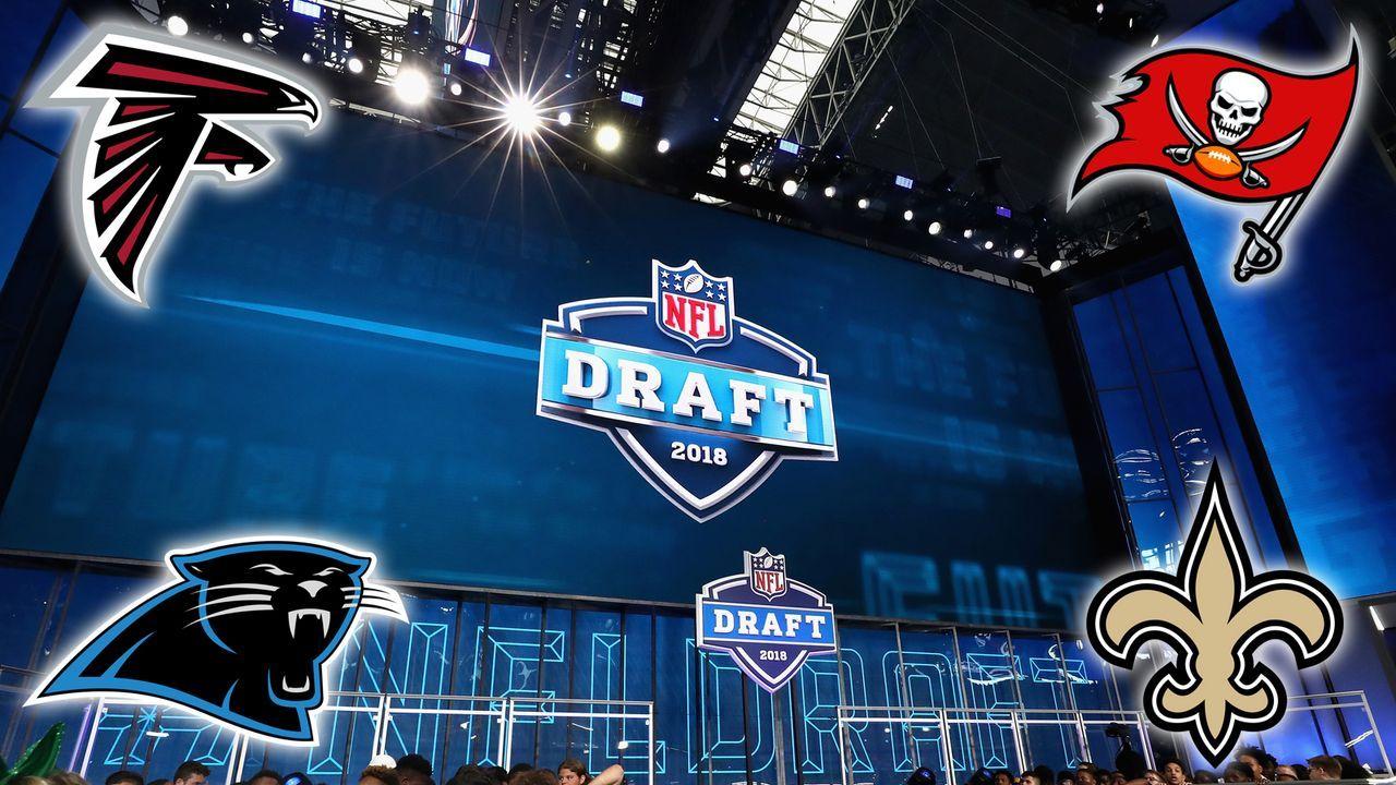 Die Draft Needs der vier Teams aus der NFC South - Bildquelle: Getty