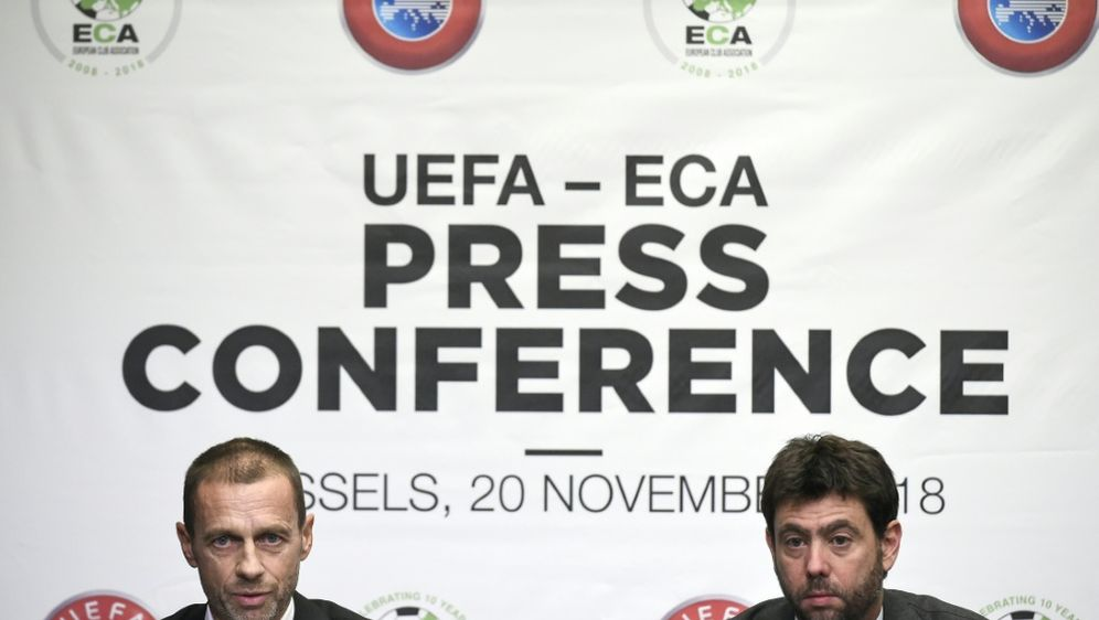 ECA weiter auf Konfrontationskurs mit nationalen Ligen - Bildquelle: AFPSIDJOHN THYS