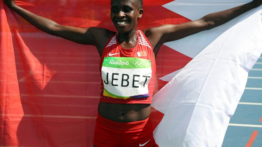 Olympiasiegerin Ruth Jebet droht eine Dopingsperre - Bildquelle: PIXATHLONPIXATHLONSID