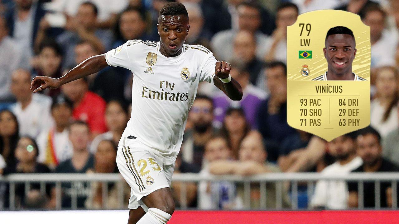 Angriff: Vinicius Junior (+13/Real Madrid) - Bildquelle: imago images/VI Images